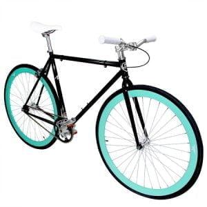 Black gloss frame with Celestial deep dish wheels