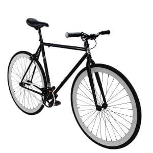Matte Black Fixed Gear Bike